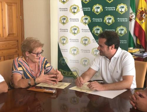 Convenio con el Ayto. de Mairena del Aljarafe para la cesión de un nuevo espacio