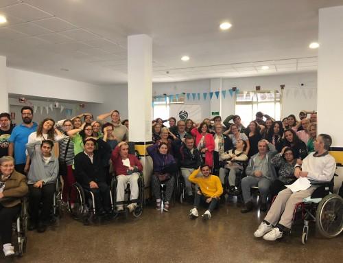 María José Sánchez Rubio visita nuestra entidad el Día Nacional del Daño Cerebral Adquirido