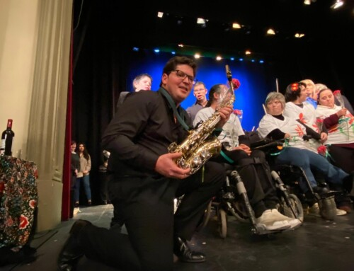 Nuestro Javi toca en la Joven Orquesta del Sur de España