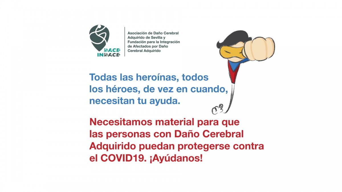 Campaña para conseguir material de protección contra el COVID19. Los héroes también necesitan tu ayuda.